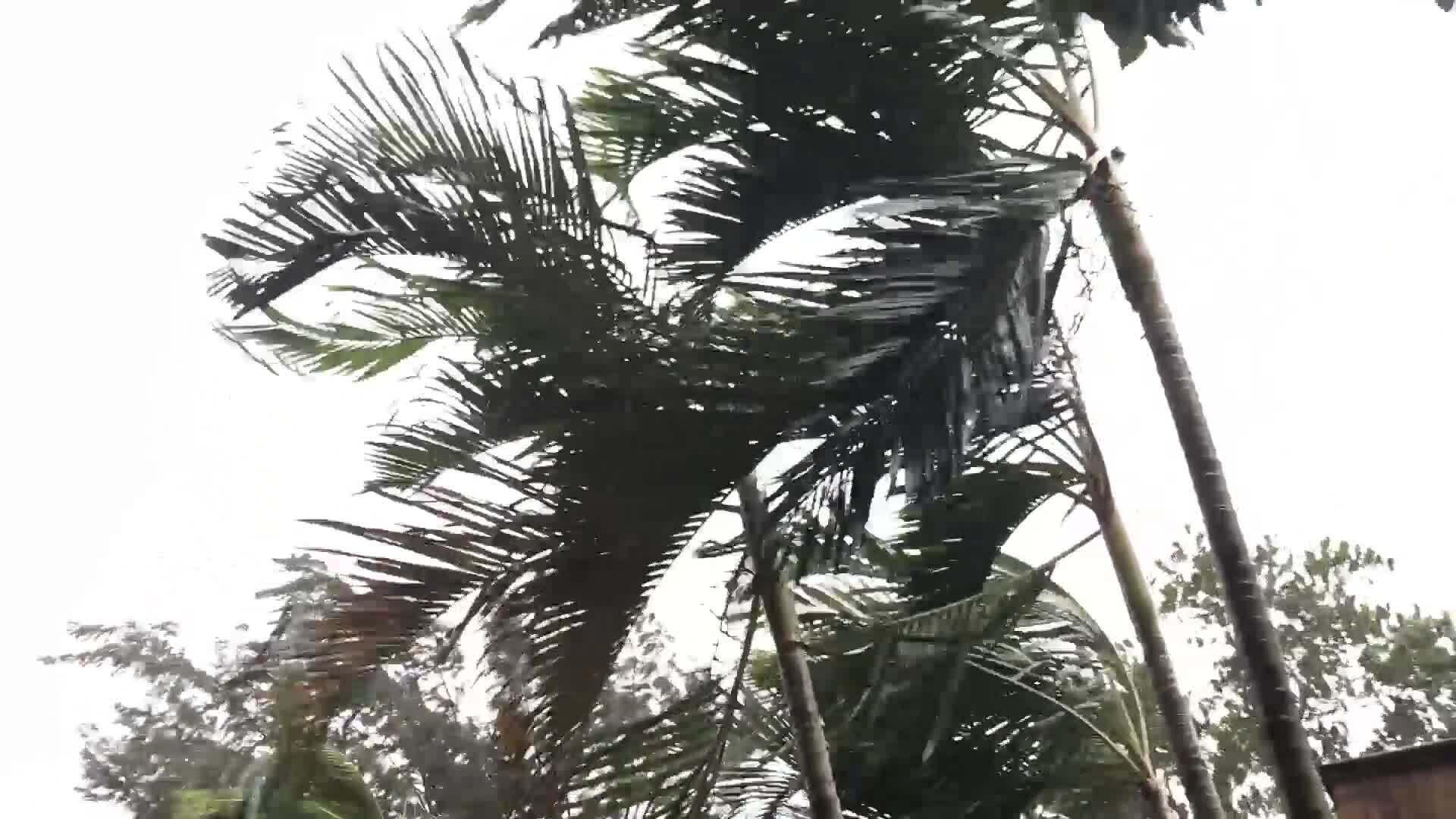 Video bài live bão số 5 ở Quảng Trị