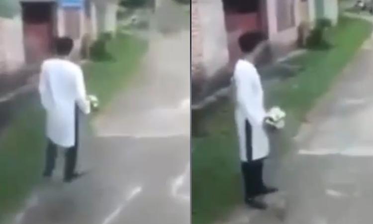 Chú rể quên đường vào nhà vợ ngày rước dâu