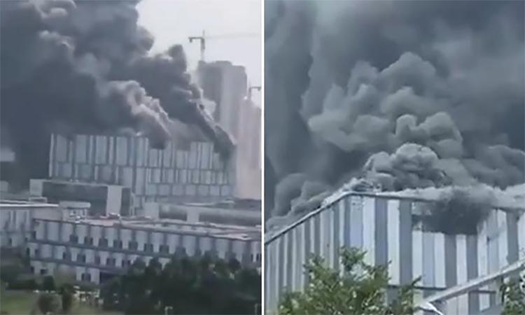 Cháy cơ sở nghiên cứu 5G của Huawei