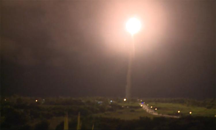 Đài Loan thử tên lửa