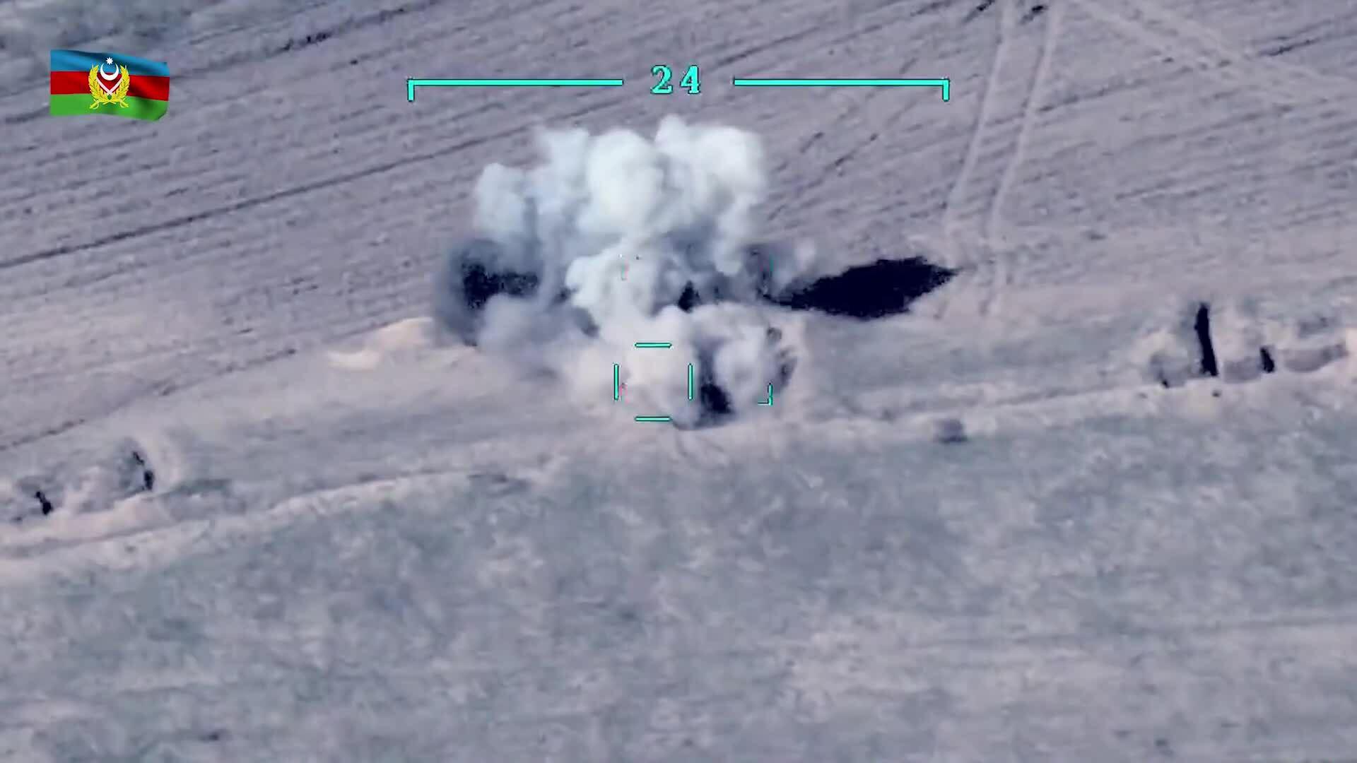 UAV Azerbaijan phá hủy loạt hệ thống phòng không Armenia
