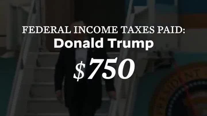 Chiến dịch Biden công kích vấn đề thuế của Trump