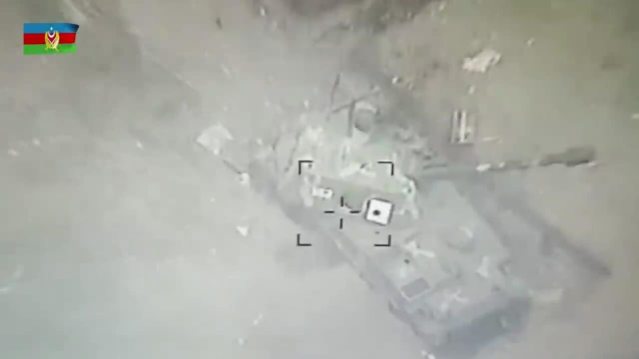Armenia và Azerbaijan tung video tấn công vị trí đối phương