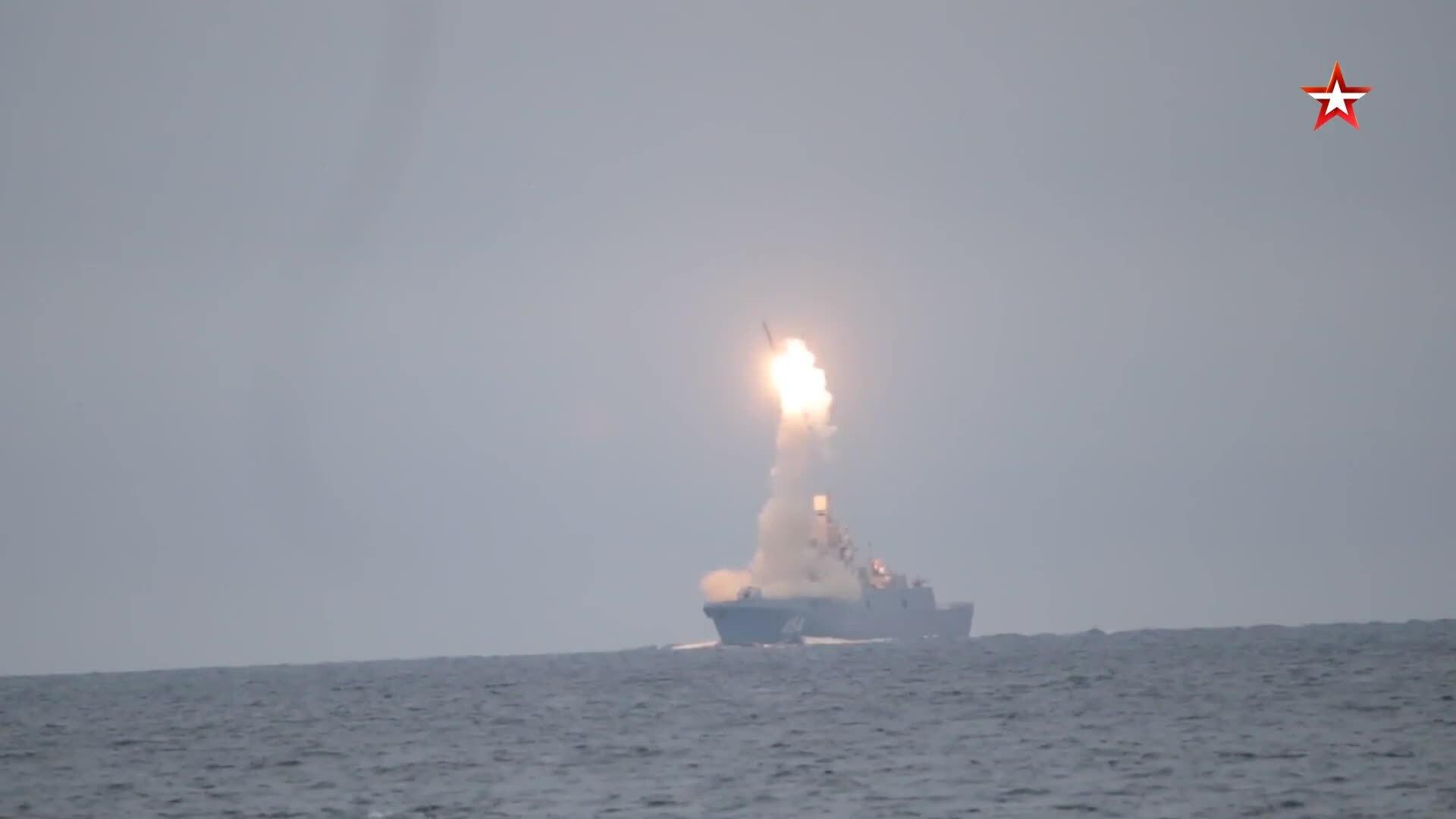 Putin ca ngợi tên lửa siêu vượt âm Zircon