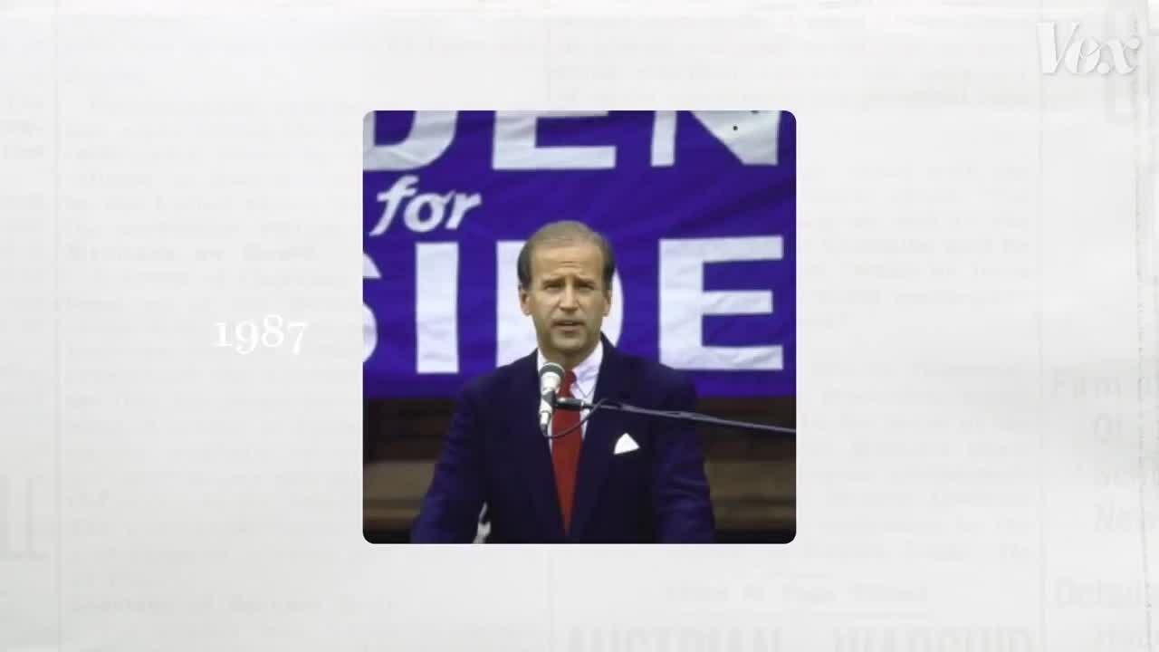 Bê bối đạo văn 'nhấn chìm' lần tranh cử đầu tiên của Biden