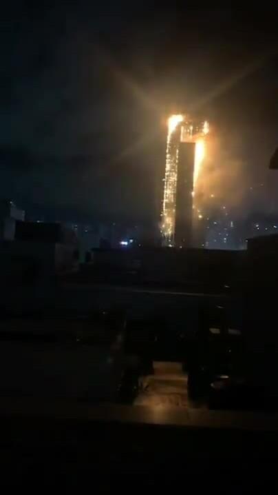 Cháy chung cư 33 tầng ở Hàn Quốc