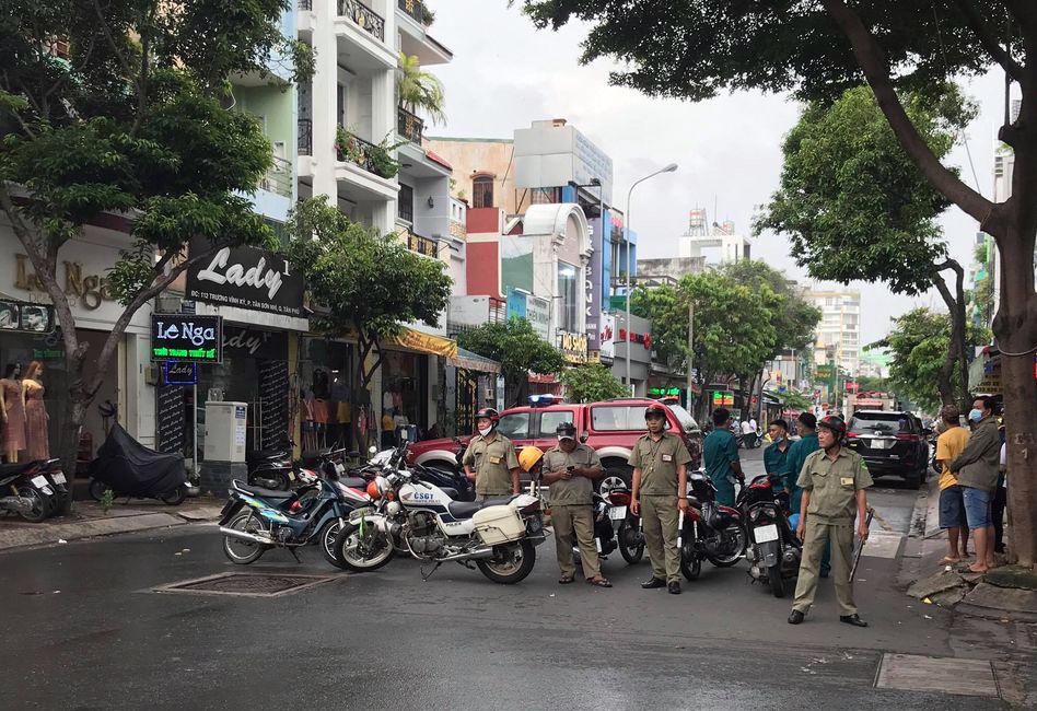 Chi nhánh ngân hàng ở Sài Gòn bị cướp