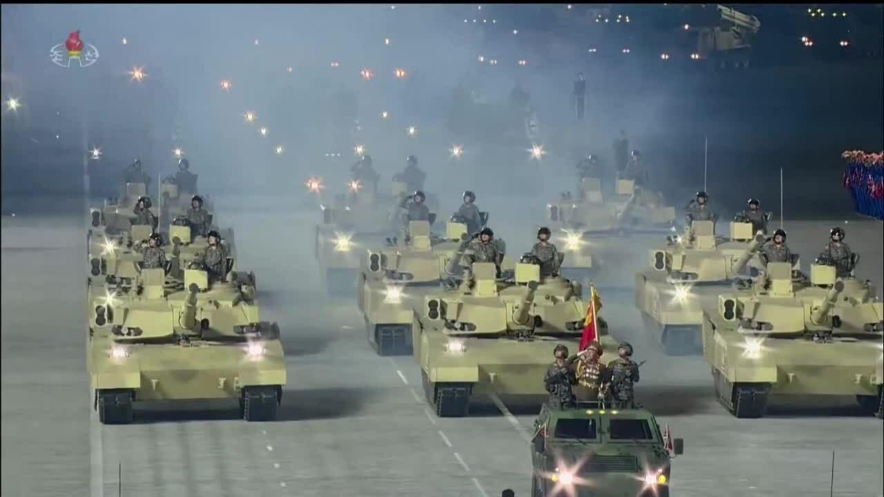 Mẫu tăng 'con lai Armata - Abrams' của Triều Tiên