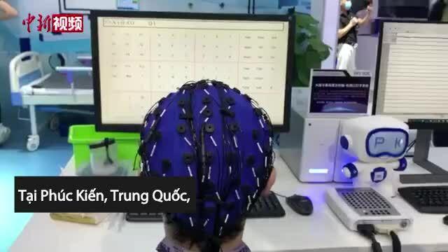Mũ điều khiển máy tính bằng sóng não