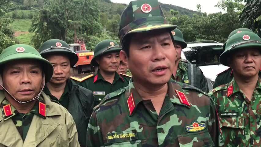 Video Trung tướng Nguyễn Tân Cương
