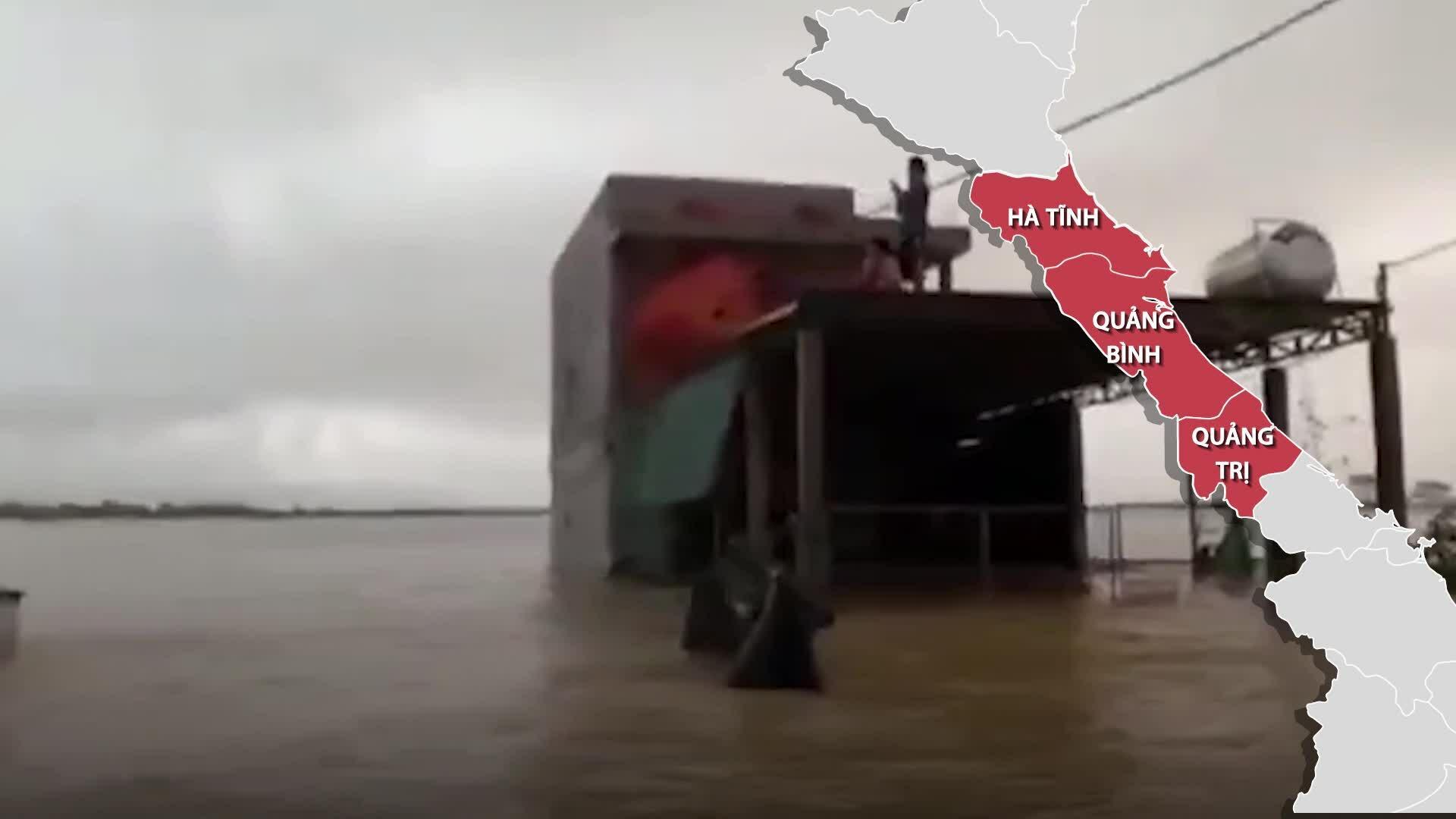 Ba tỉnh bị thiệt hại nặng nhất do mưa lũ