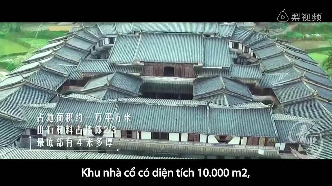 Khu nhà cổ 10.000 tấn nằm trên đầm lầy