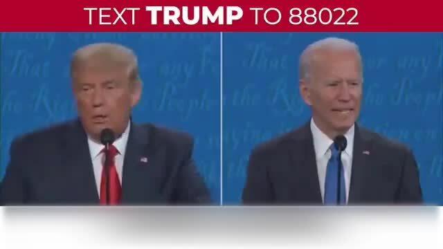 Trump tung video phản bác Biden
