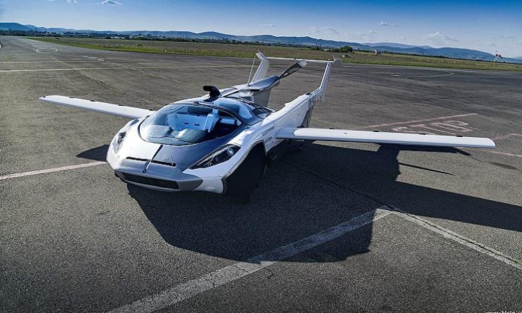 Xe hơi có thể biến thành máy bay trong 3 phút