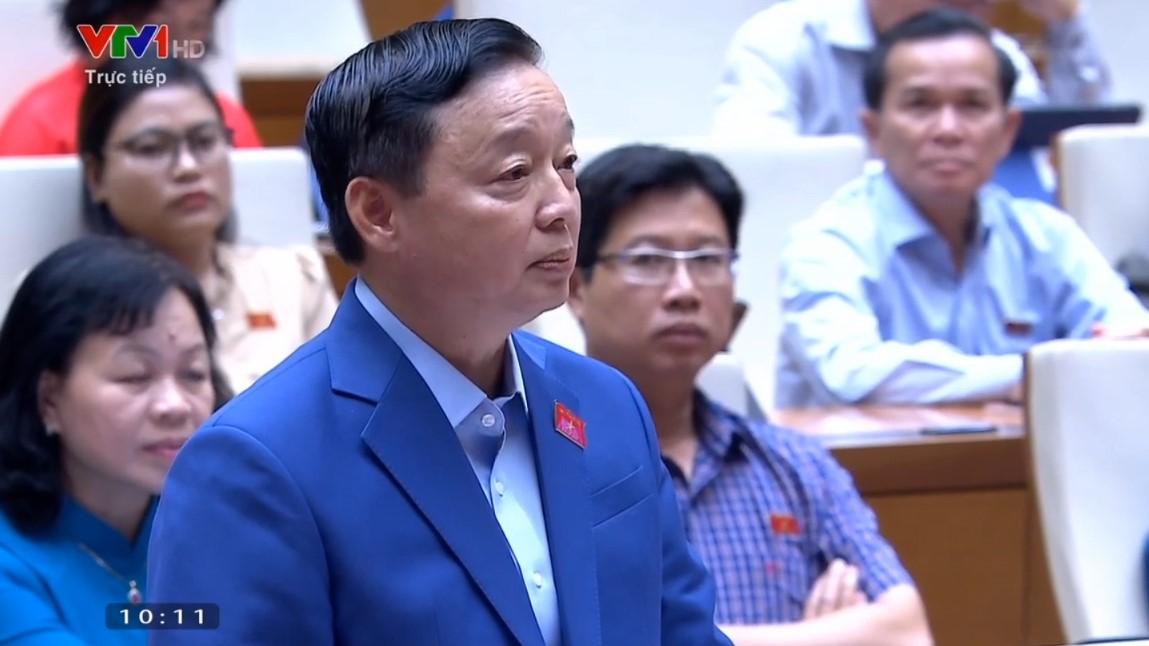 Bộ trưởng Trần Hồng Hà giải trình về thủy điện