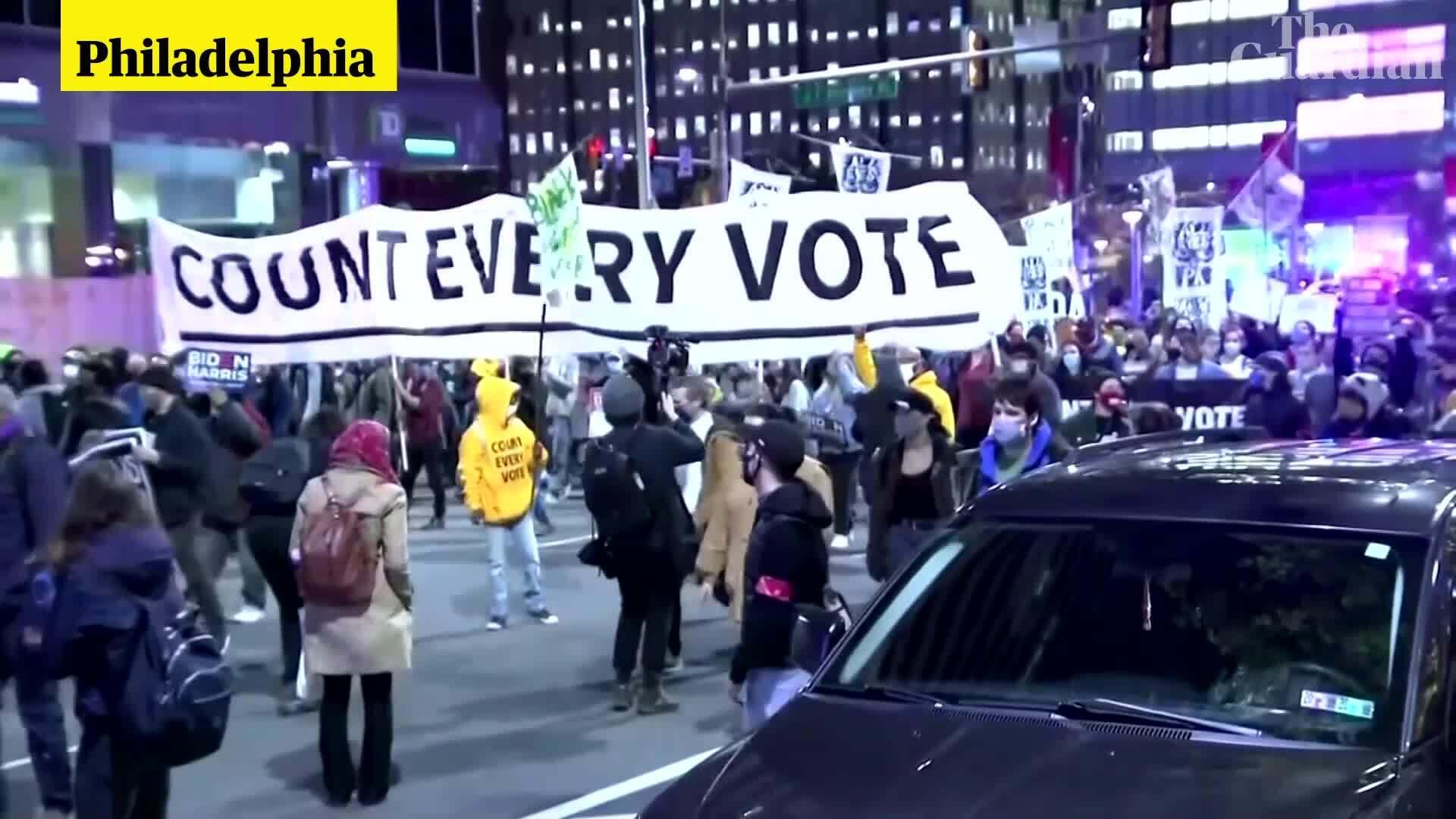 Những người Mỹ đấu tranh vì lá phiếu