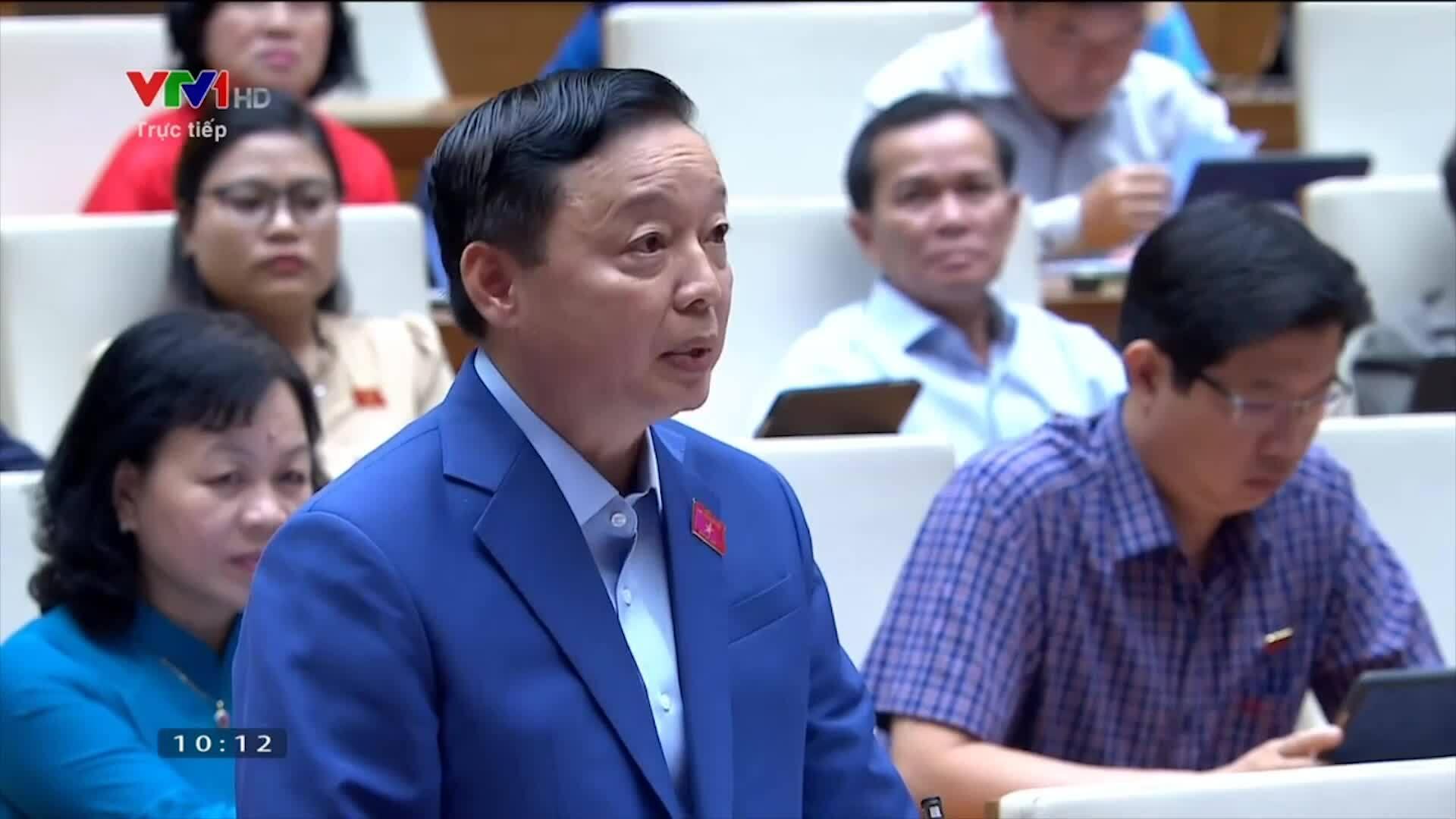 Video Bộ trưởng Trần Hồng Hà