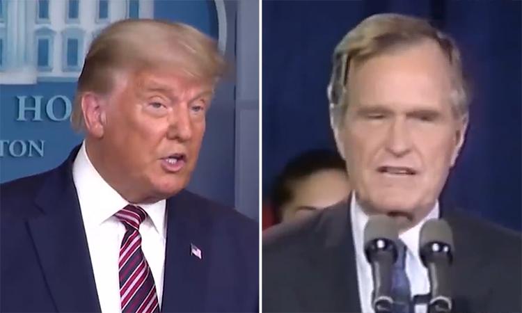 Phản ứng khác biệt khi gặp bất lợi trong bầu cử Mỹ