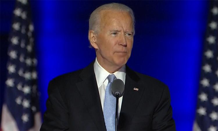 Biden: 'Người dân đã lên tiếng'