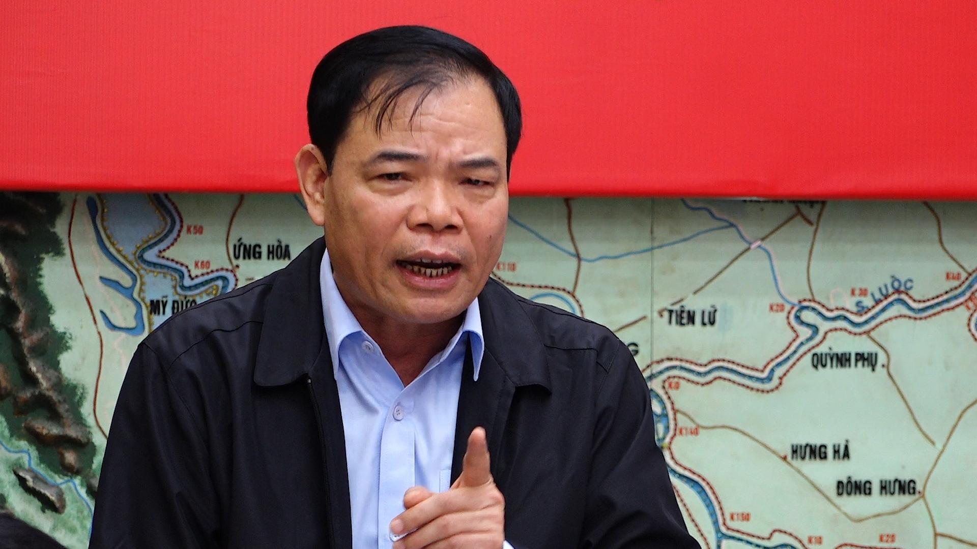Bộ trưởng Nguyễn Xuân Cường nói về mức độ ảnh của bão Vamco
