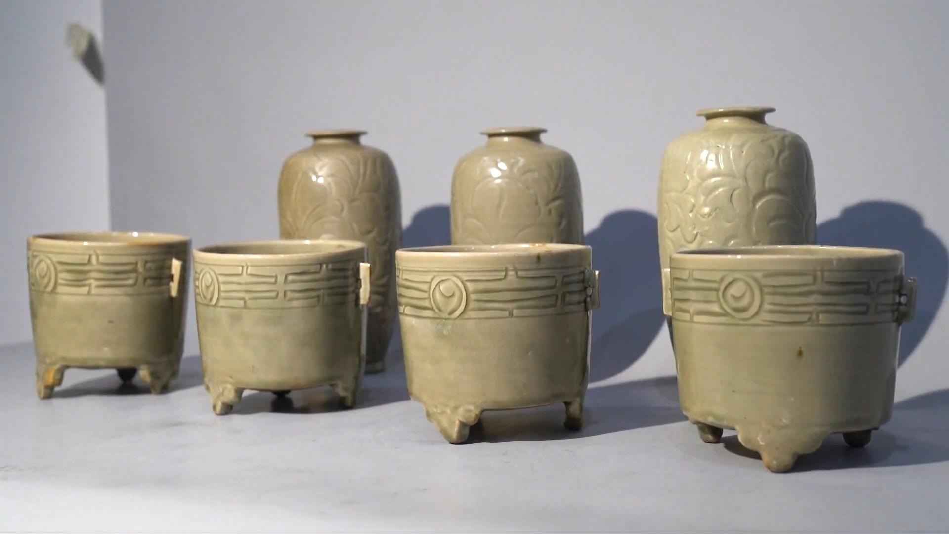 Phát hiện bộ sưu tập đồ gốm sứ cao cấp 1.000 năm tuổi