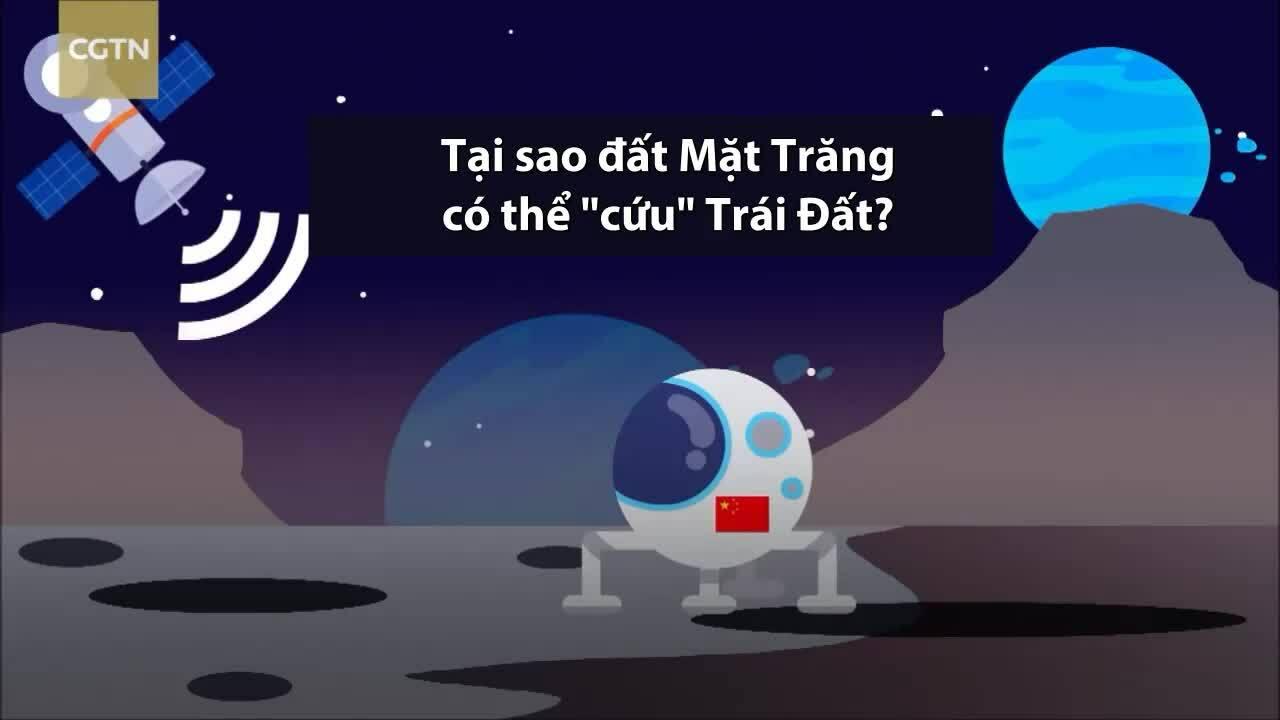 Trữ lượng tài nguyên khổng lồ trên Mặt Trăng