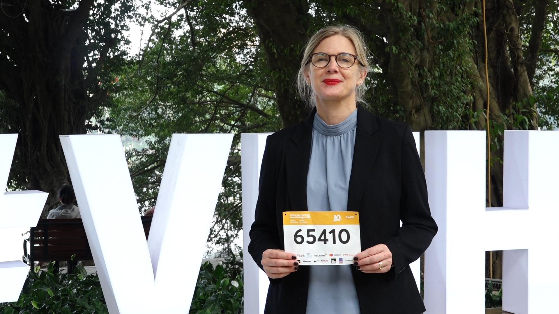 Đại sứ Thuỵ Điển tại Việt Nam tham gia chạy 10 km