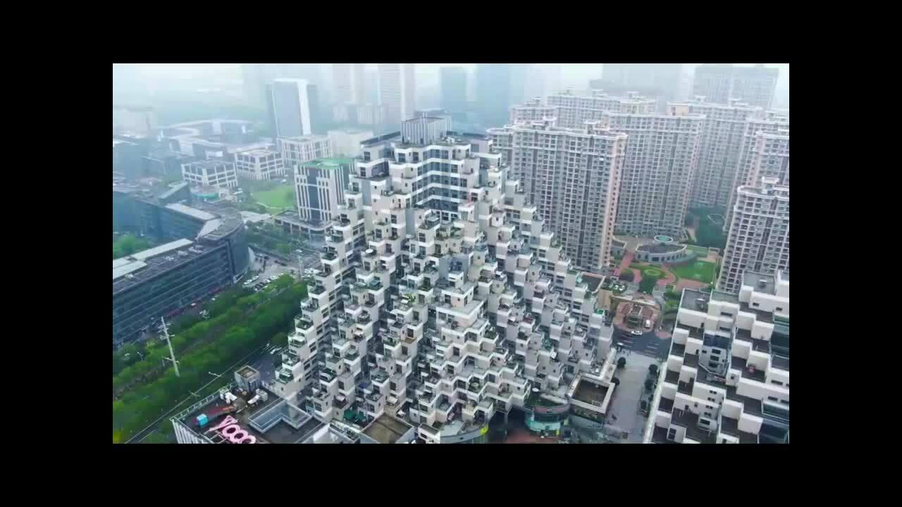 Chung cư hình kim tự tháp ở Trung Quốc