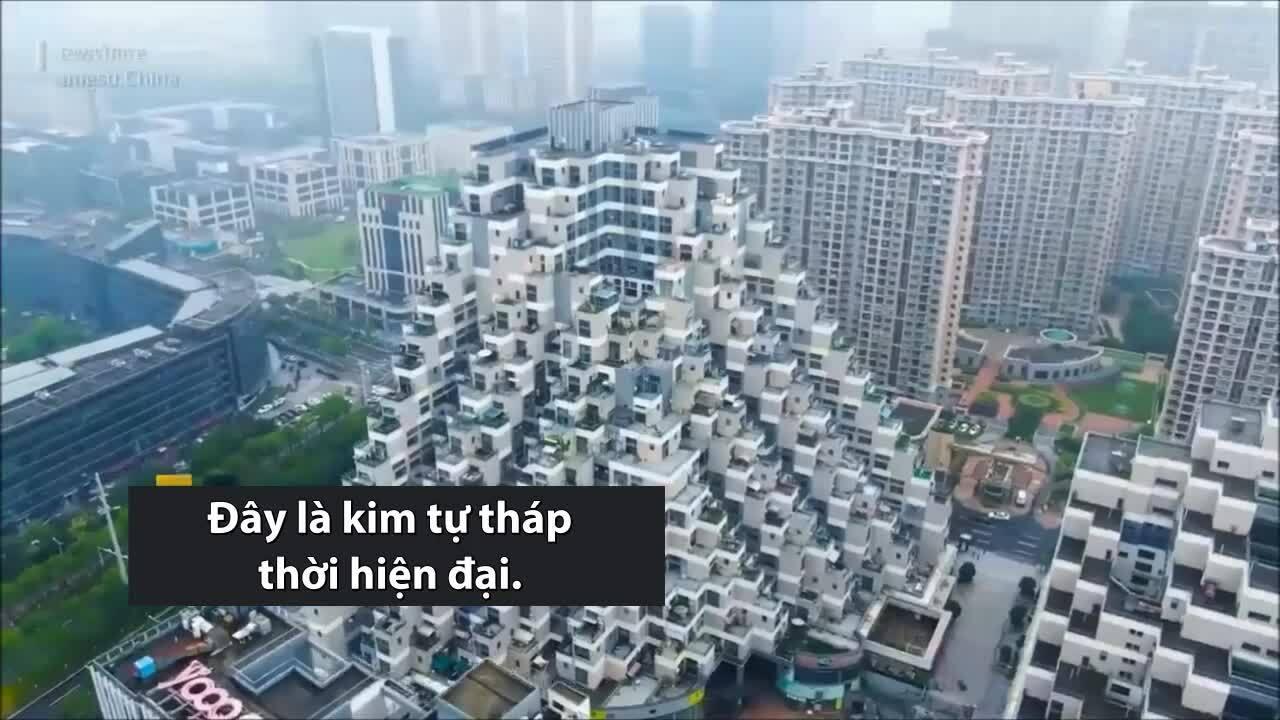 Chung cư kim tự tháp ở Trung Quốc