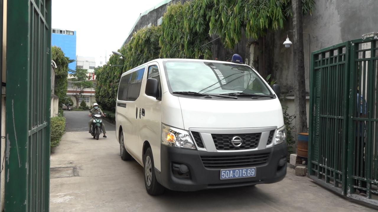 Video minh họa khám xét công ty Tân Thuận