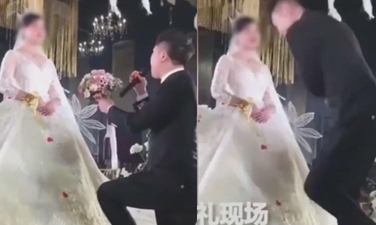 Chú rể bỏ đi vì cô dâu không cảm xúc