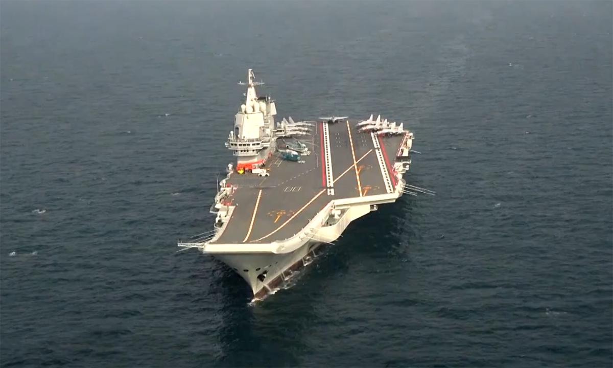 Tàu sân bay Sơn Đông hoàn tất 23 ngày thử nghiệm