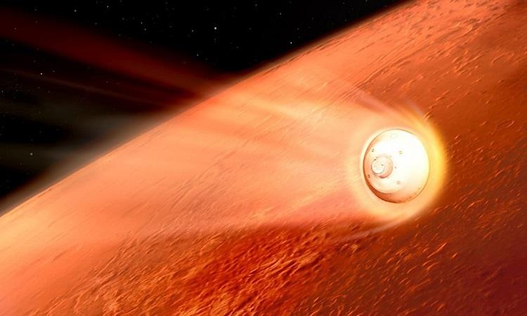 '7 phút kinh hoàng' của robot NASA trên sao Hỏa