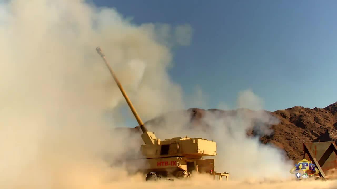 Khoảnh khắc pháo Mỹ diệt mục tiêu ở cách 70 km