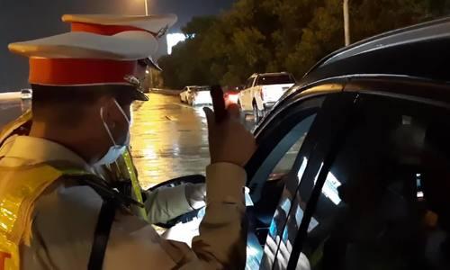 Một năm xử phạt nặng với tài xế uống rượu bia