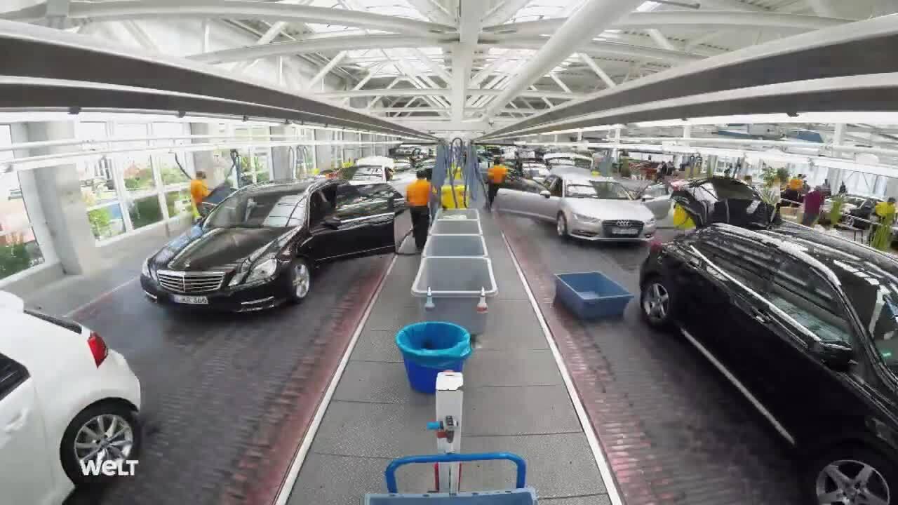 Trạm rửa xe lớn nhất thế giới