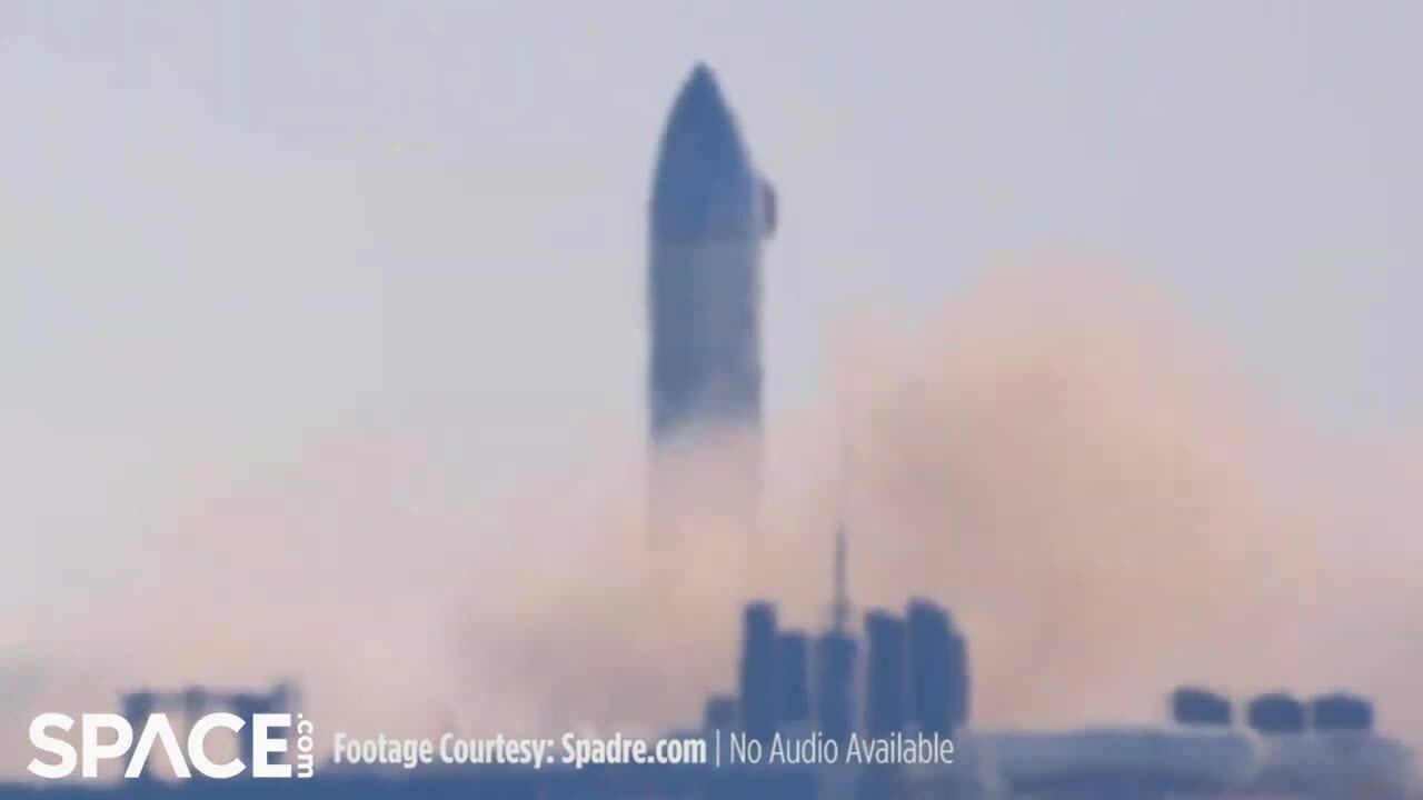 Nguyên mẫu tàu Starship đốt động cơ 3 lần trong cùng ngày