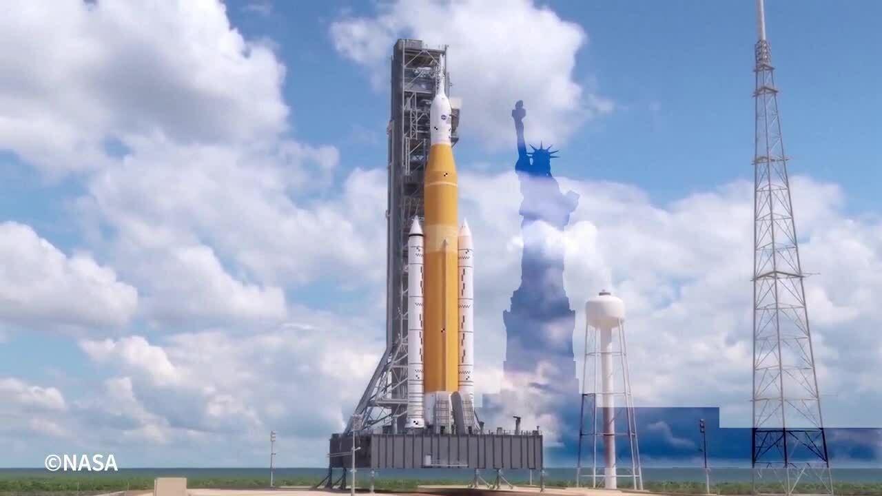 Tên lửa mạnh nhất thế giới của NASA