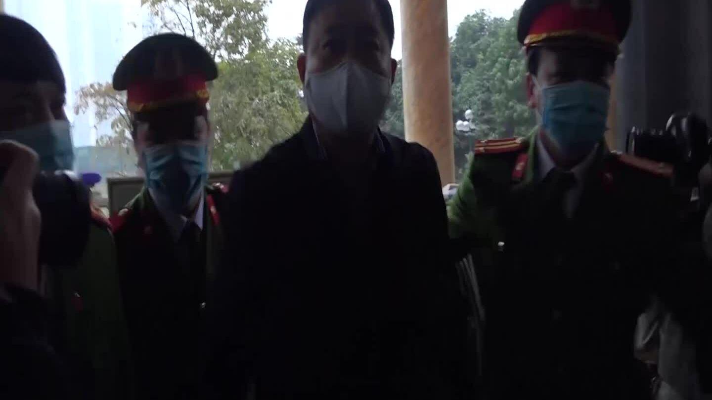 Đinh La Thăng Trịnh Xuân Thanh đến toà