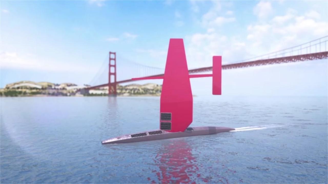 Hạ thủy tàu lập bản đồ đáy đại dương tự động dài 22 m