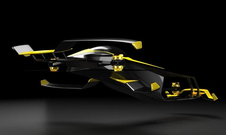 Xe đua bay cất hạ cánh thẳng đứng tốc độ 246 km/h