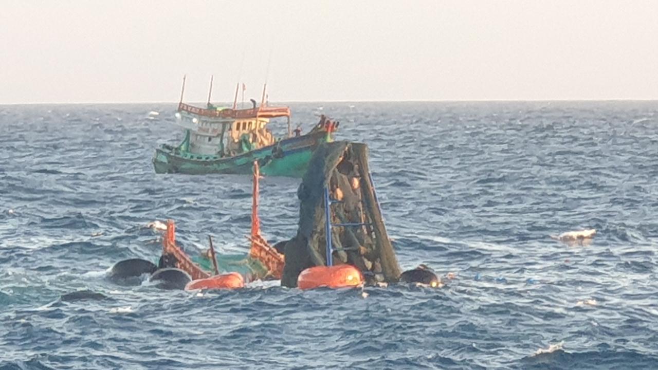 Tìm thấy một thi thể vụ chìm tàu ở Côn Đảo