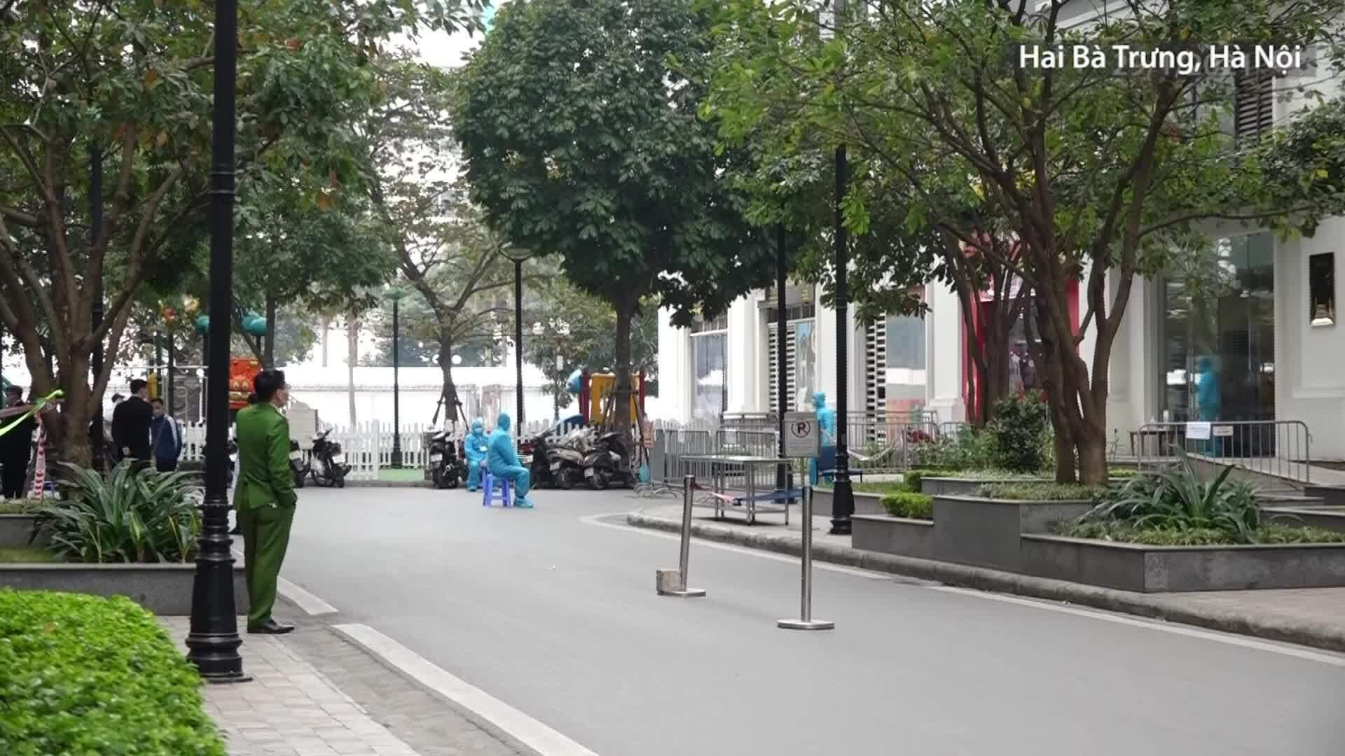 Video Cách ly tòa nhà T6 khu đô thị Times City