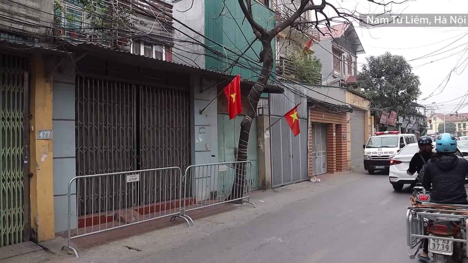 Video một gia đình ở Hà Nội mắc Covid-19