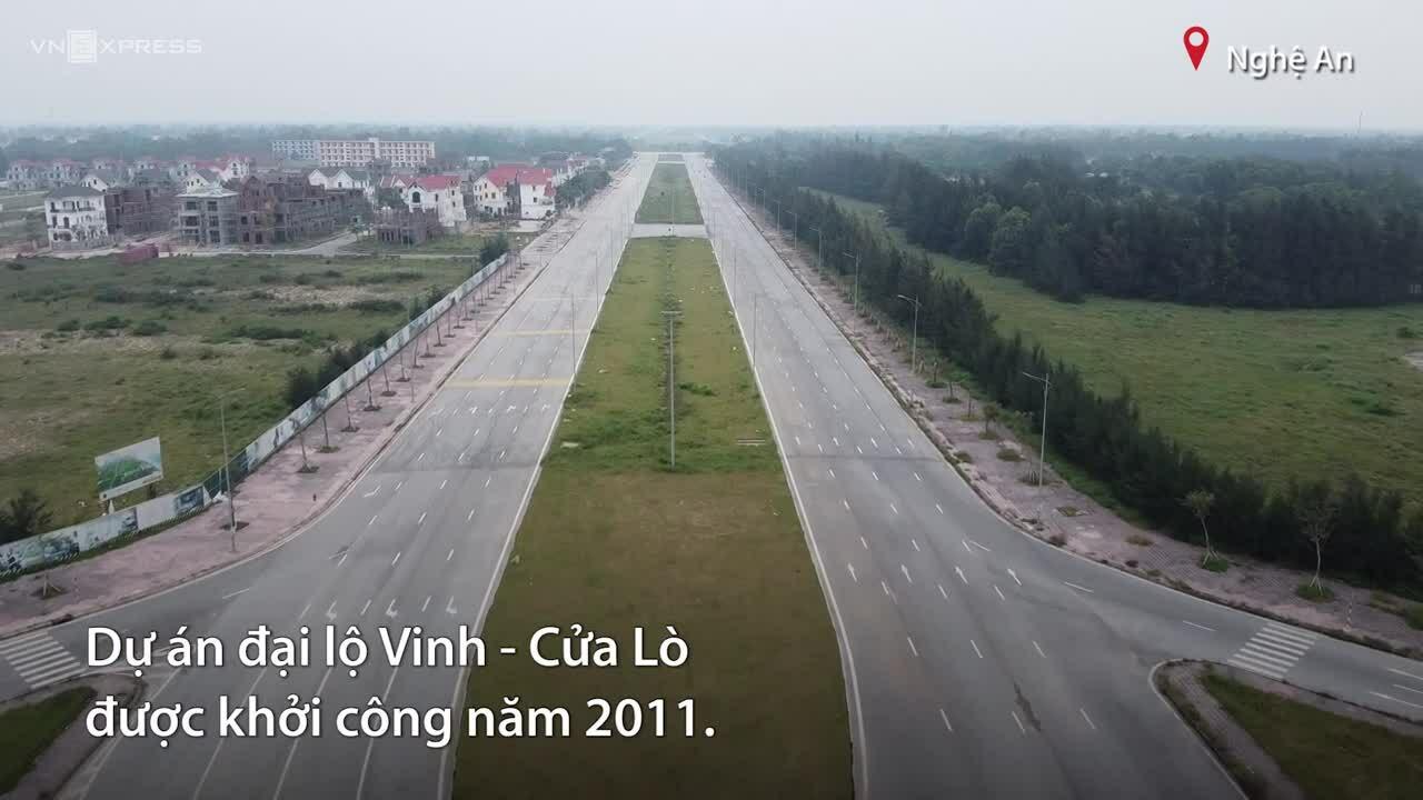Đại lộ xong giải phóng mặt bằng sau 10 năm