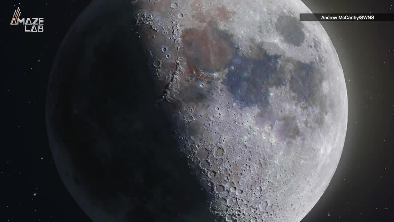 Ảnh chụp Mặt Trăng siêu nét và chi tiết