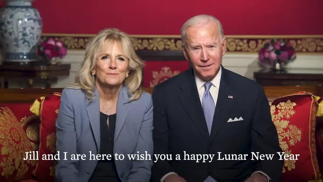 Tổng thống Mỹ và phu nhân chúc Tết