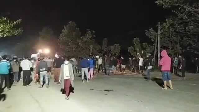Lực lượng an ninh Myanmar nổ súng giải tán biểu tình
