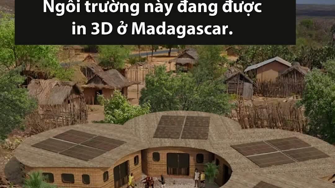 Trường học in 3D trong chưa đầy một tuần