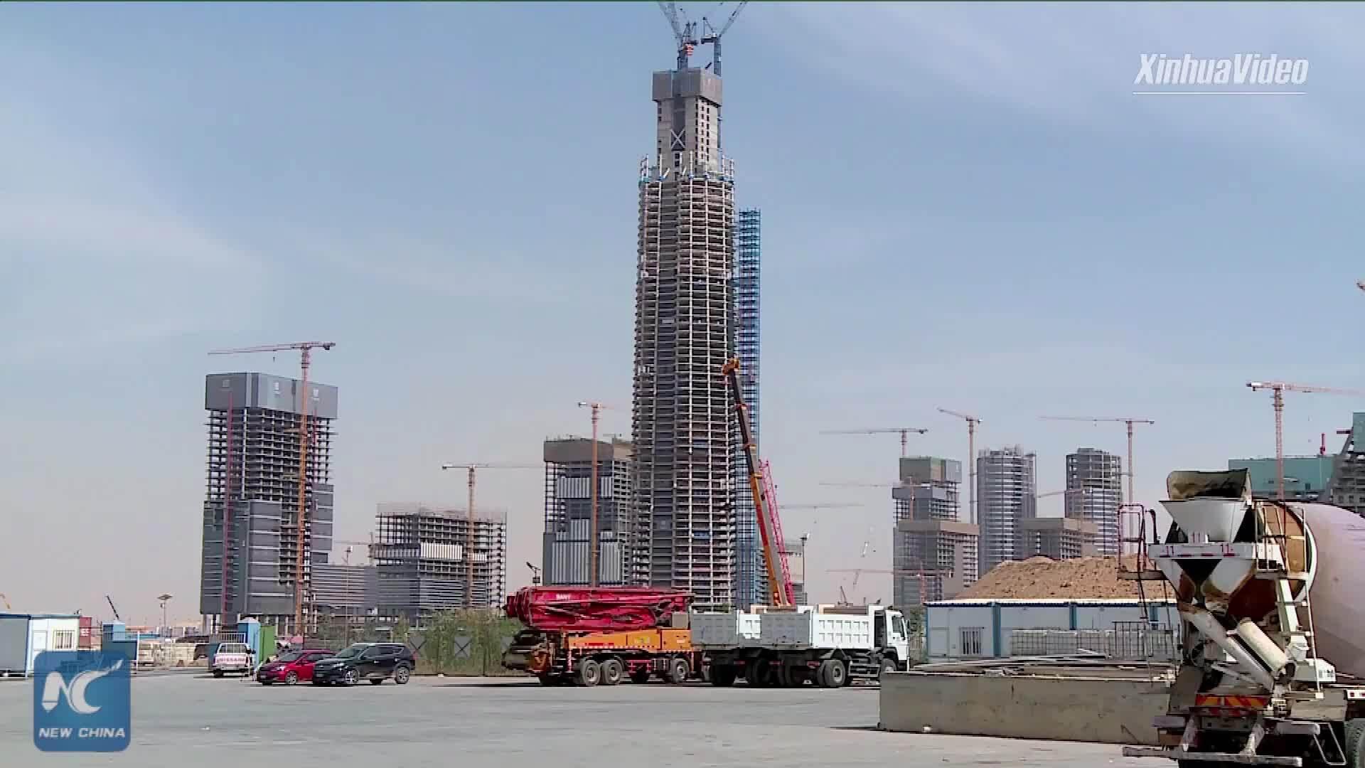 Ai Cập xây tòa nhà cao nhất châu Phi